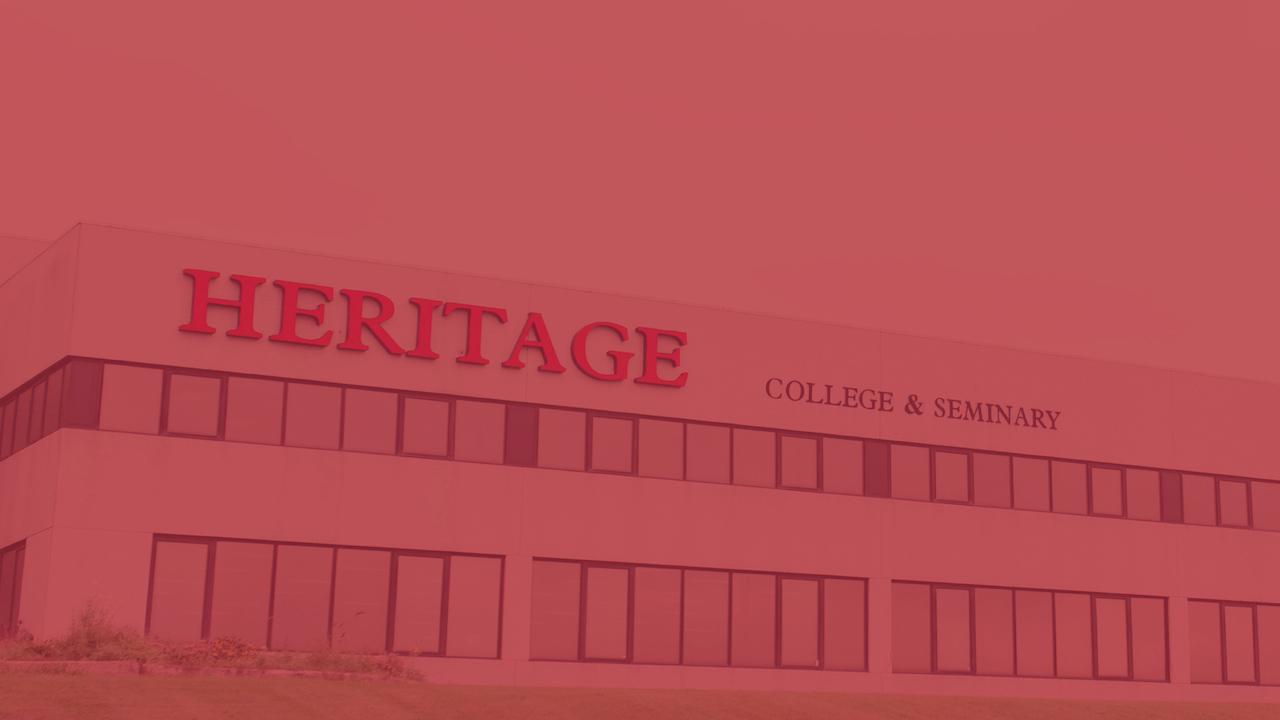 Heritage College & Seminary Moves into Red-Control on Tuesday, February 16
