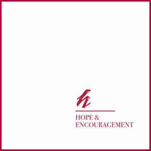 Hope and Encouragement podcast logo graphic